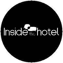 Inside the hotel logotype