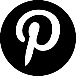 Pinterest logo circle