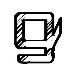 Gumroad sketched logo
