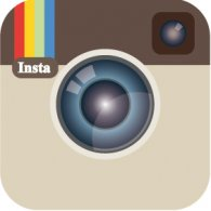 Instagram icon vector download