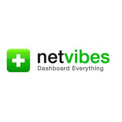 Netvibes vector logo download logo vector