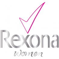 Rexona women logo vector download