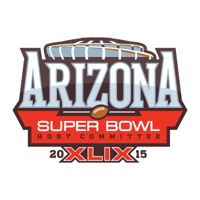 Super Bowl XLIX in Arizona logo vector