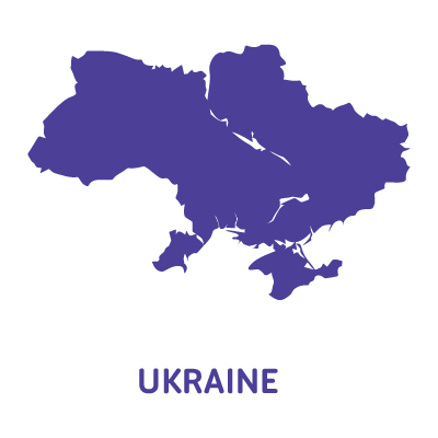 Ukraine map vector download