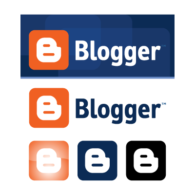 Blogspot logo vector
