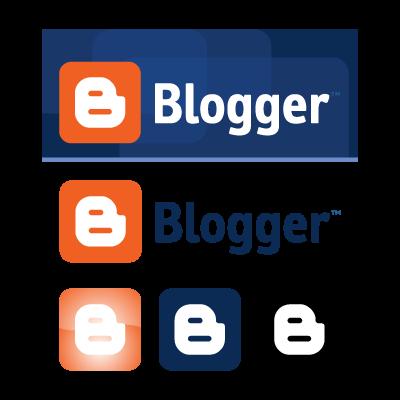 Blogspot logo vector