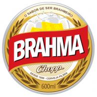 Brahma beer logo vector