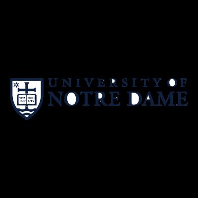 Notre Dame logo vector