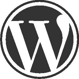 WordPress circular website logo