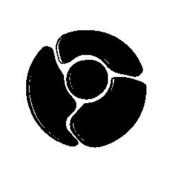 Chrome logo sketch symbol variant
