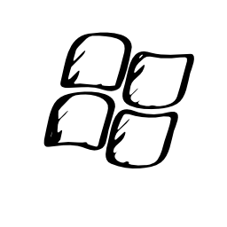 Windows sketched logo
