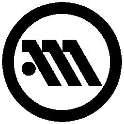 Athens metro logo symbol