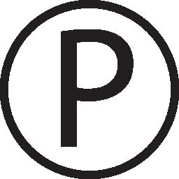 P logo circle