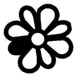 Icq flower logo