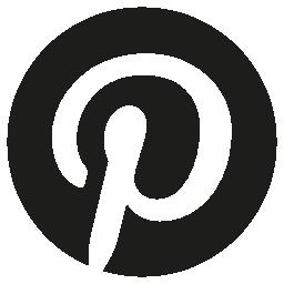 Pinterest circular logo symbol
