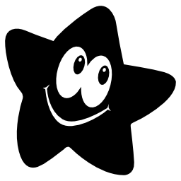 Kaixin101 logotype of a smiling star