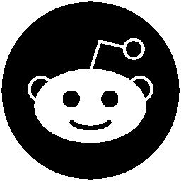 Reddit social logo character