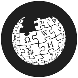Wikipedia logotype of Earth puzzle