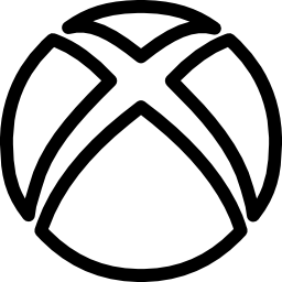 Xbox social outline logo