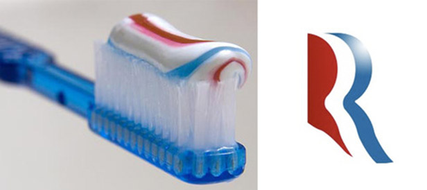 Romney's Logo Looks Like Toothpaste [PICS]