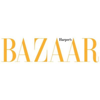 Bazaar Harper's logo vector