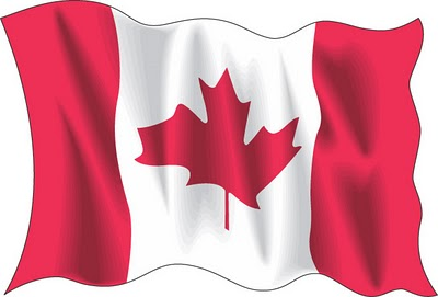 Canada Wave Flag vector